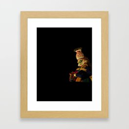 Kathakali in night lights - 134 Framed Art Print