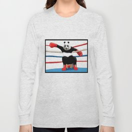 Boxing Panda Long Sleeve T-shirt