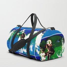 SURFING DAYS          by Kay Lipton Duffle Bag