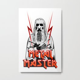 Metal Master Metal Print