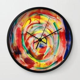 Happy wisdom Wall Clock