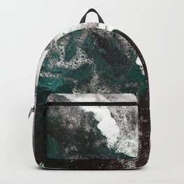 Abstract Sea, Water Backpack