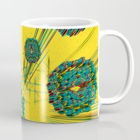 edm Mugs featuring Coral Reef by Obvious Warrior