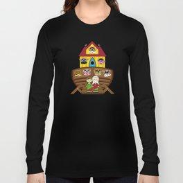Cute Noahs Ark Long Sleeve T-shirt