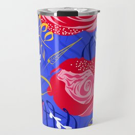 Marsala #illustration #pattern Travel Mug