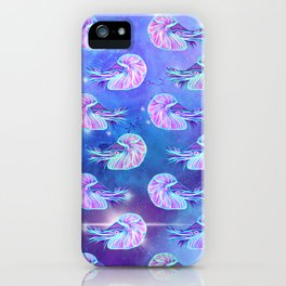 The Celestial Chambered Nautilus iPhone Case