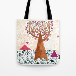 Mysterious tree Tote Bag