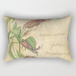 Planimarium - astacoidea justicia brandegeeana Rectangular Pillow