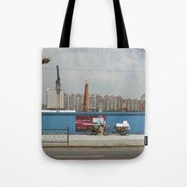 Construction site Tote Bag