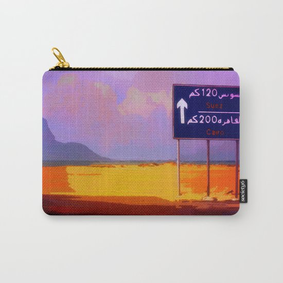 Road to Cairo Carry-All Pouch