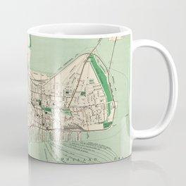 Vintage Map of Portland ME (1906) Coffee Mug
