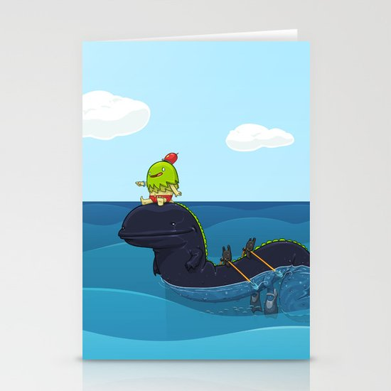 Game Hunter Stationery Cards