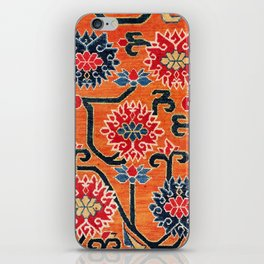 Shigatse South Tibetan Jabuye Rug Print iPhone Skin