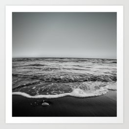 BEACH DAYS XXIII BW Art Print