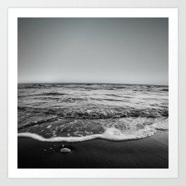 BEACH DAYS XXIII BW Art Print