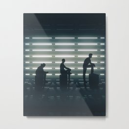 Progression Metal Print