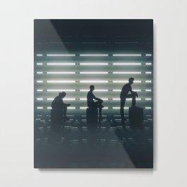 Progression Metal Print