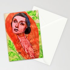 SAD CHRYSALIS Stationery Cards