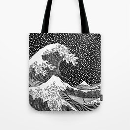 Hokusai - The Great Wave of Kanagawa Tote Bag