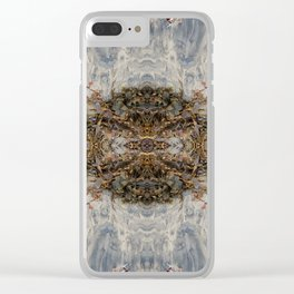 Transcending (Mandala-esque #1) Clear iPhone Case