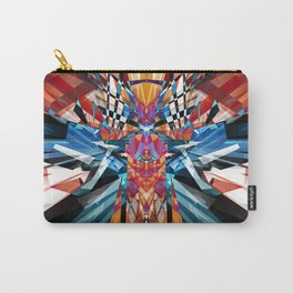 Mirror Image Abstract Carry-All Pouch