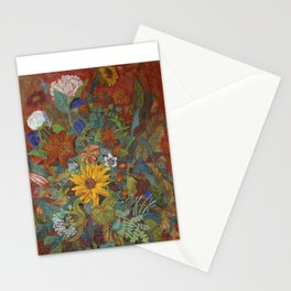 flower 2【Japanese painting】 Stationery Cards