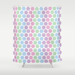 Pastel Kind o Day Shower Curtain