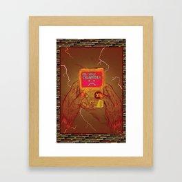 Glitchd Framed Art Print