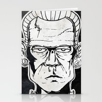 frankenstein Stationery Cards featuring Frankenstein by Diseños Fofo