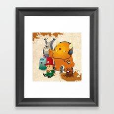 Magic Forest Gang! Framed Art Print