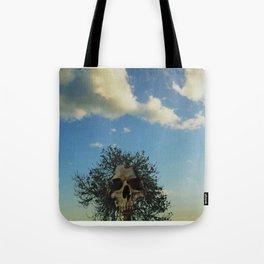 skull tree Tote Bag