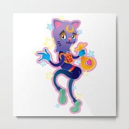 CAT BURGLE Metal Print