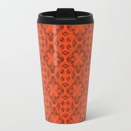 Flame Shadows Travel Mug