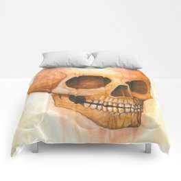 deaths grinning head Comforters