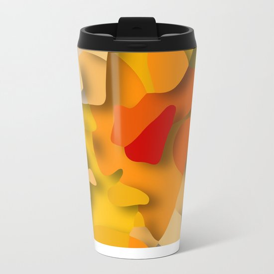 red spot Metal Travel Mug