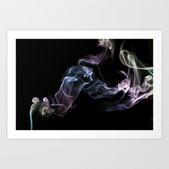 Smokey 16 Art Print