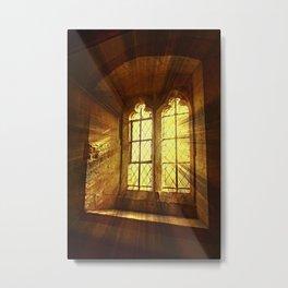 St Saviours Window. Metal Print