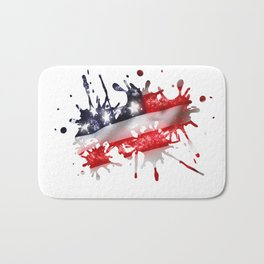 Star Spangled Banner Bath Mat
