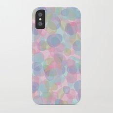 Pebbles Lavender iPhone X Slim Case