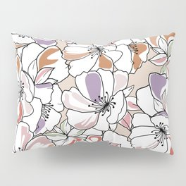 Giant spring flowers Pillow Sham