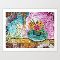 Serenity in a teacup Art Print