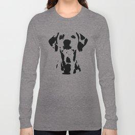 Dalmatian dog watercolour Long Sleeve T-shirt