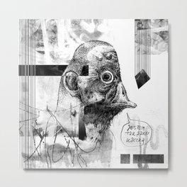 Kaczoludź - ZONA Metal Print