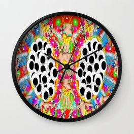 Kaleidofan Wall Clock