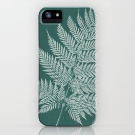 Naturalist Fern iPhone Case
