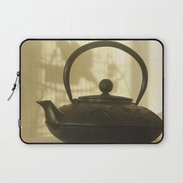 black cast iron kettle Chinese Laptop Sleeve