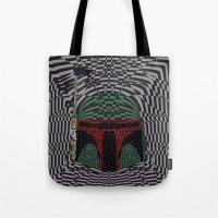 boba Tote Bags featuring Boba Effect by Fabian Gonzalez