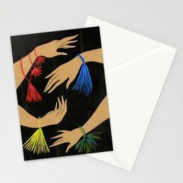 Tasseled Hands Stationery Cards