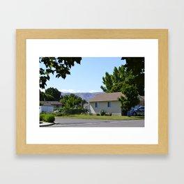 Payson, Utah Framed Art Print