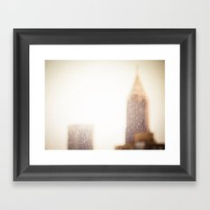Buildings With a Touch of Gold 1 Framed Art Print